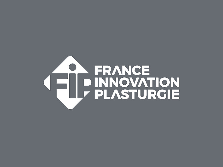 Logo of the France Innovation Plasturgie event, the leading trade show for plastics, composites and rubber